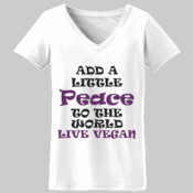 A little Peace V-Neck